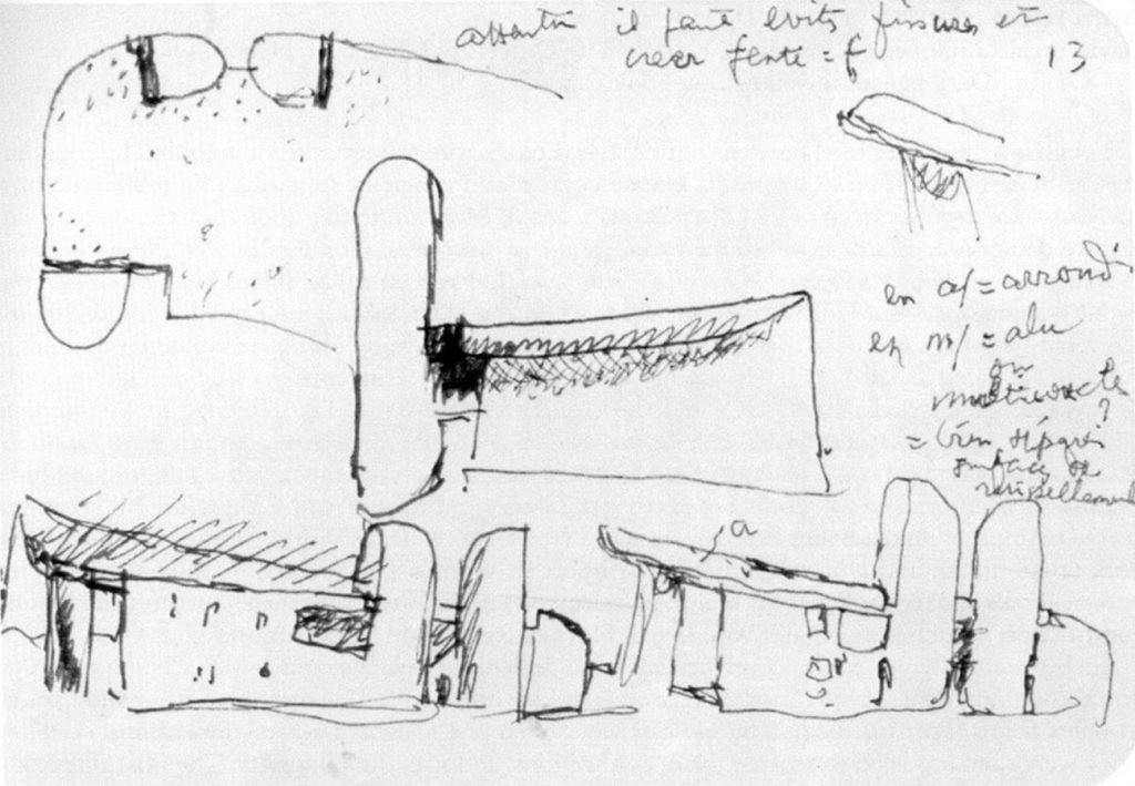 Sketches by famous architects- Le Corbusier -1