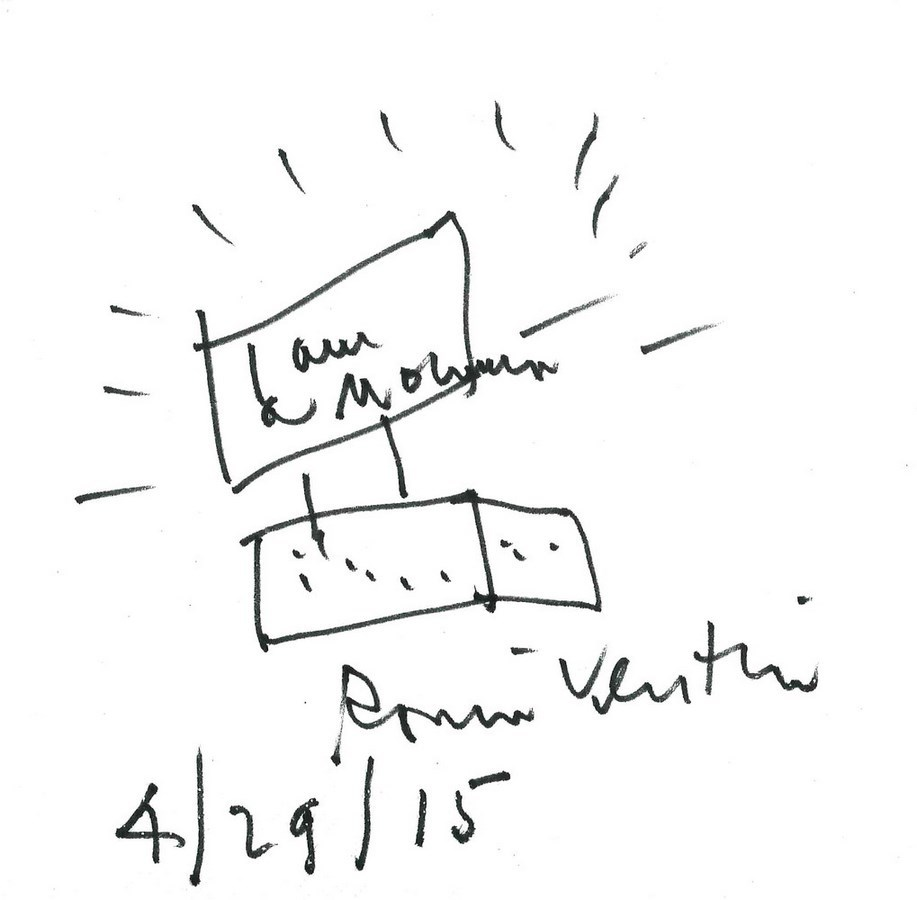 Sketches by famous architects-Robert Venturi -1