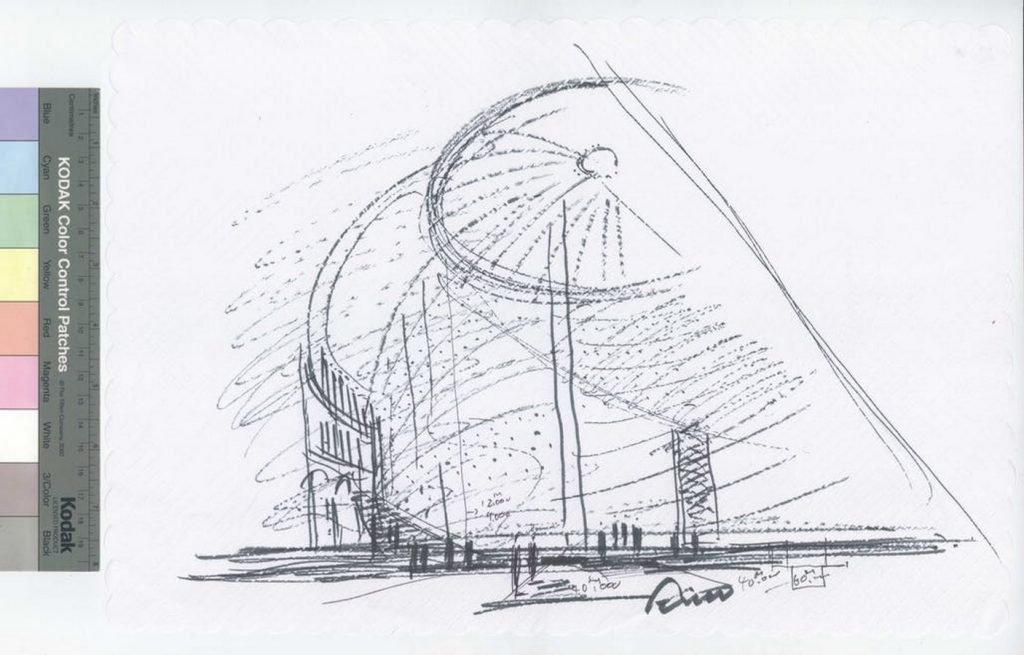 Sketches by famous architects-Tadao Ando -1