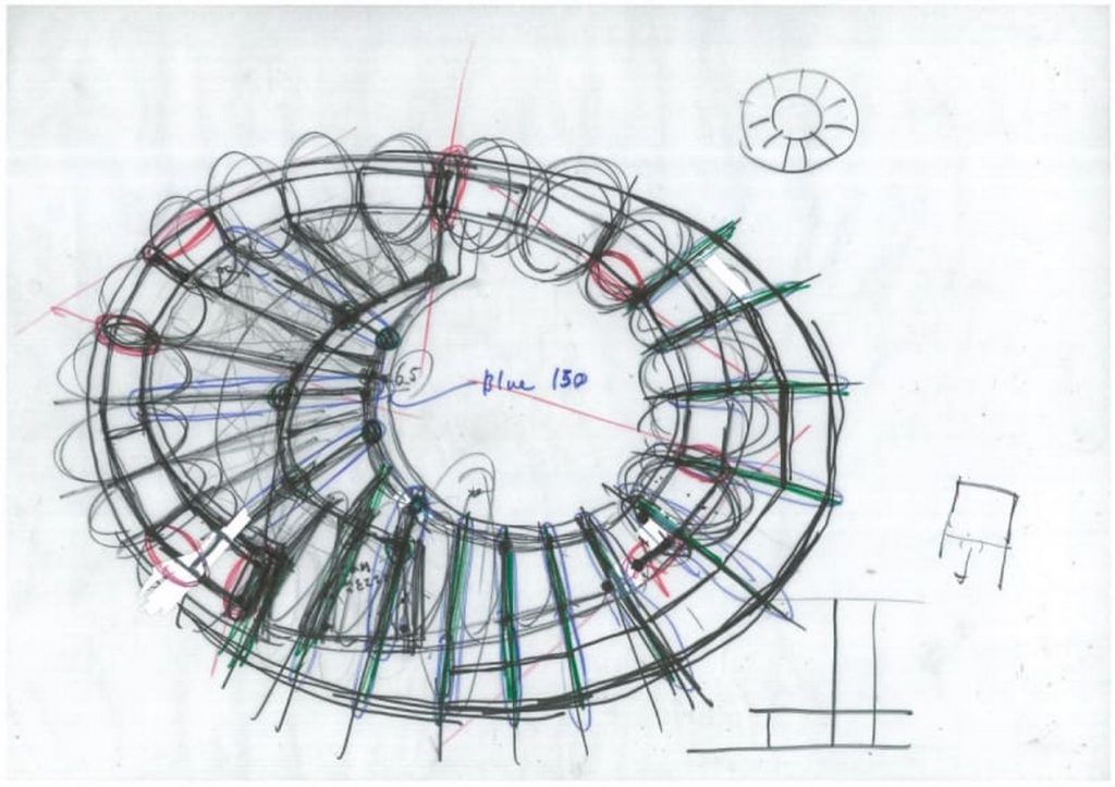 Sketches by famous architects- Tezuka Architects -1