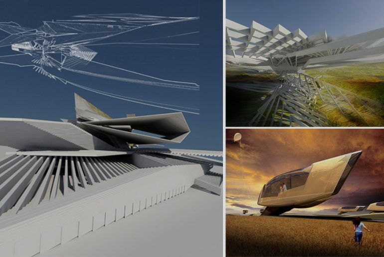 Conceptual Kinetic Architecture projects that did not see the light of the Sun