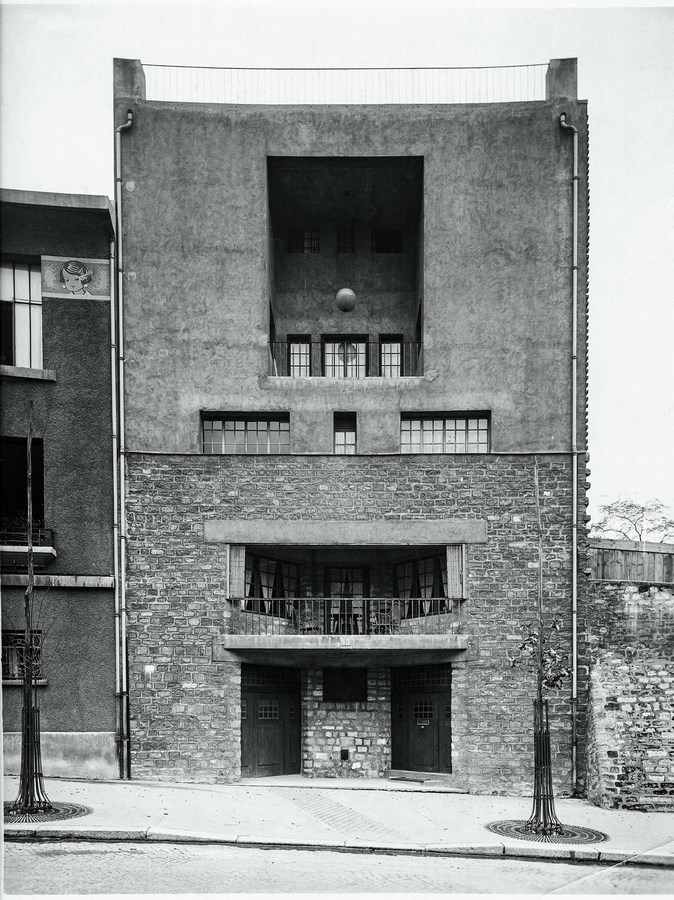 15 Best projects-Adolf Loos- Tristan Tzara House -1