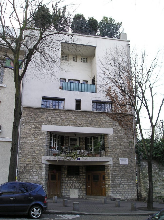 15 Best projects-Adolf Loos- Tristan Tzara House -2