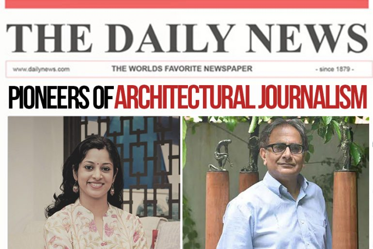 Pioneers of Architectural Journalism In India Part- 1 - Rethinking The Future