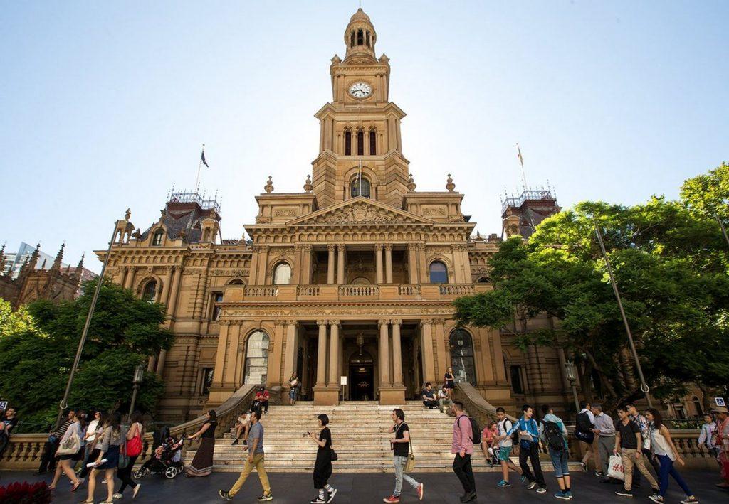 Sydney Town Hall - Sheet1