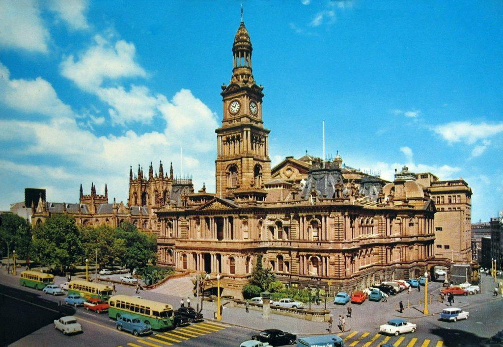 Sydney Town Hall - Sheet3