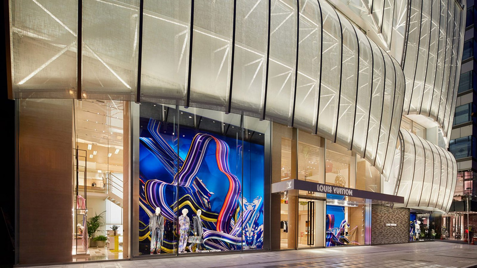 Louis Vuitton Store Osaka by Jun Aoki & Associates-An Amalgamation of Culture and Modern Architecture -3