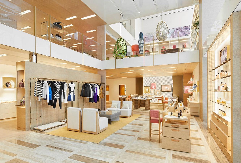 Louis Vuitton Store Osaka by Jun Aoki & Associates-An Amalgamation of Culture and Modern Architecture -8