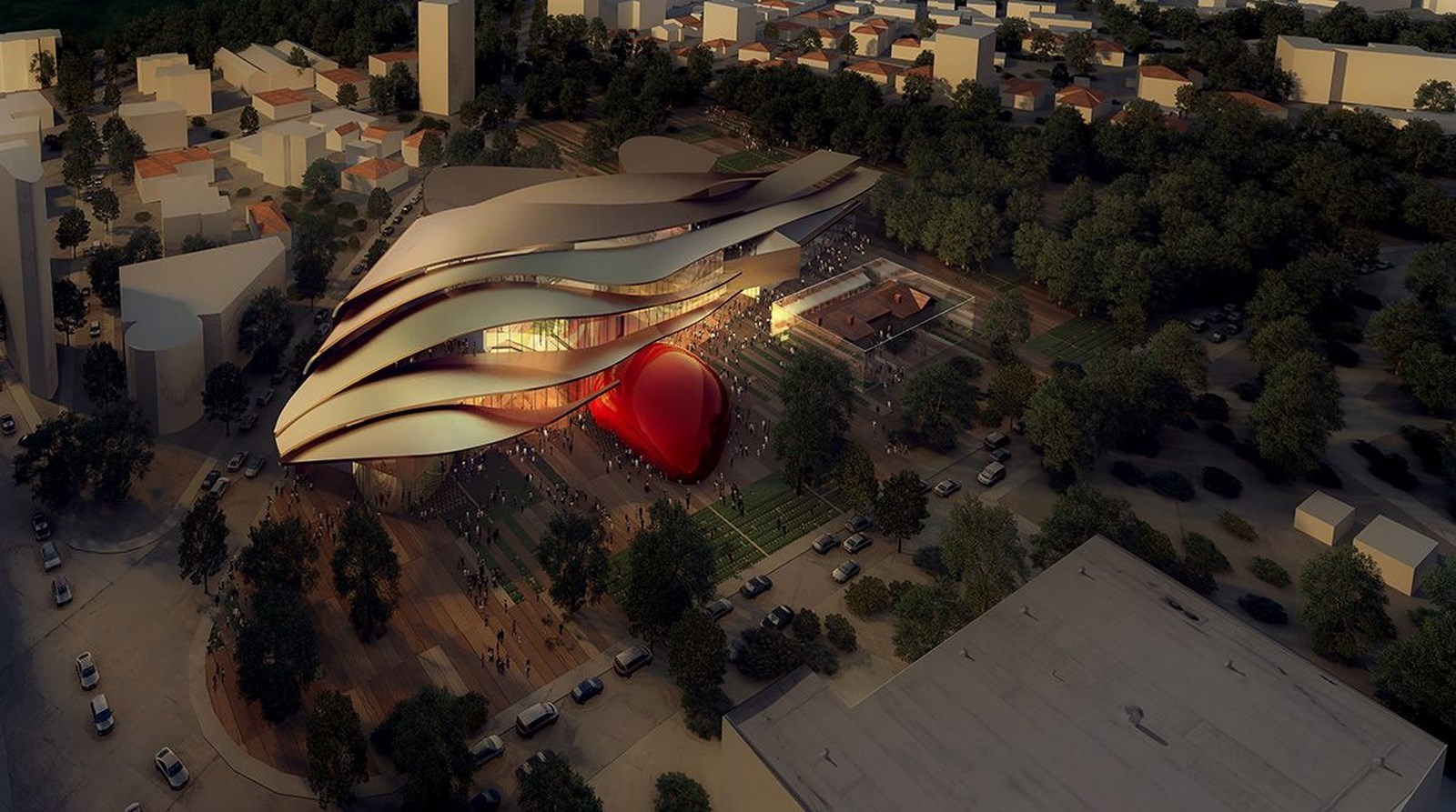 Starchitects Odile Decq- Cyprus Museum -1