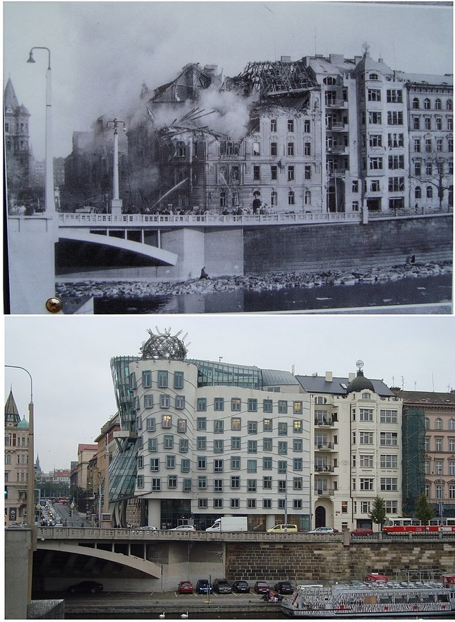 10 Things You Did Not Know About Dancing House — Prague-Original site, original plans - Sheet1