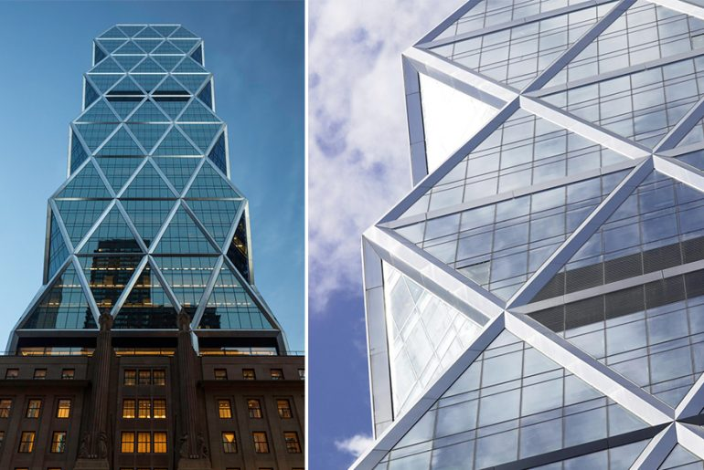 Norman Foster's Hearst Tower, NY- One of the greenest skyscrapers