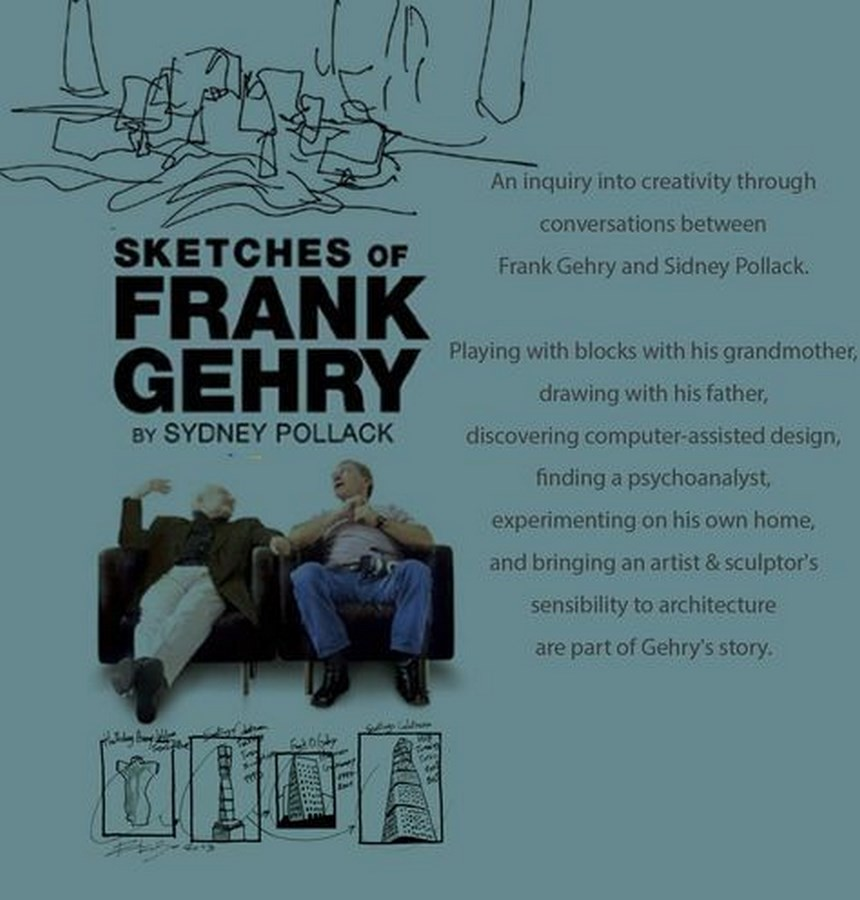 Frank Gehry - Sketches of Frank Gehry by Sydney Pollack