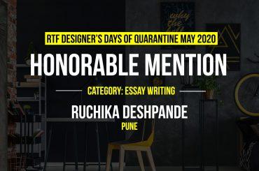 Designing Diurnal Tasks by Ruchika Deshpande