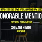 My Days of Being Me by Shivani Singh