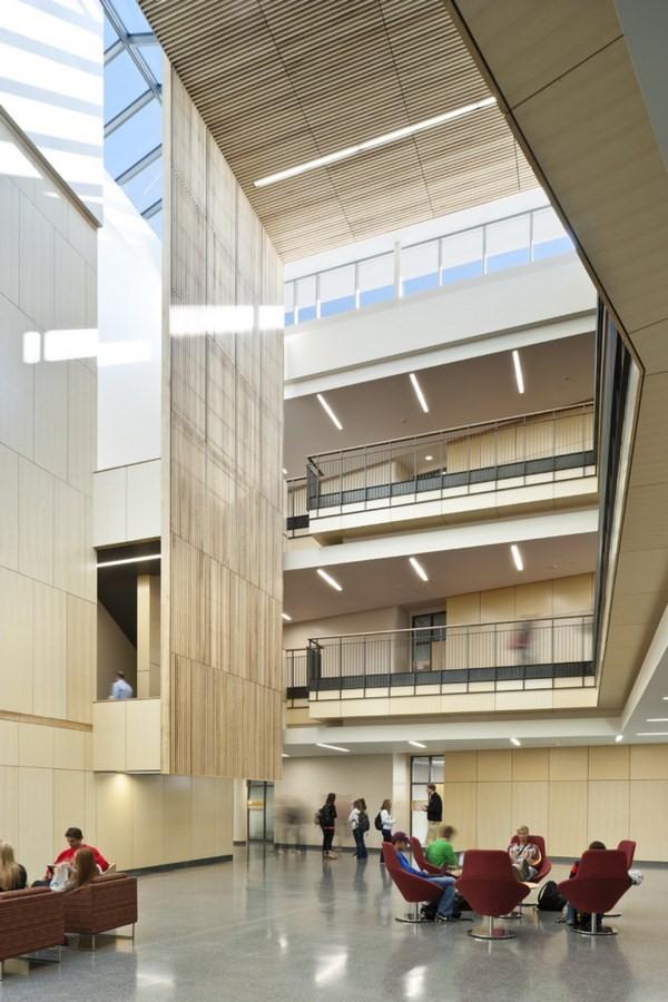 Gustavus Adolphus College - new Warren and Donna Beck Academic Hall - Sheet2