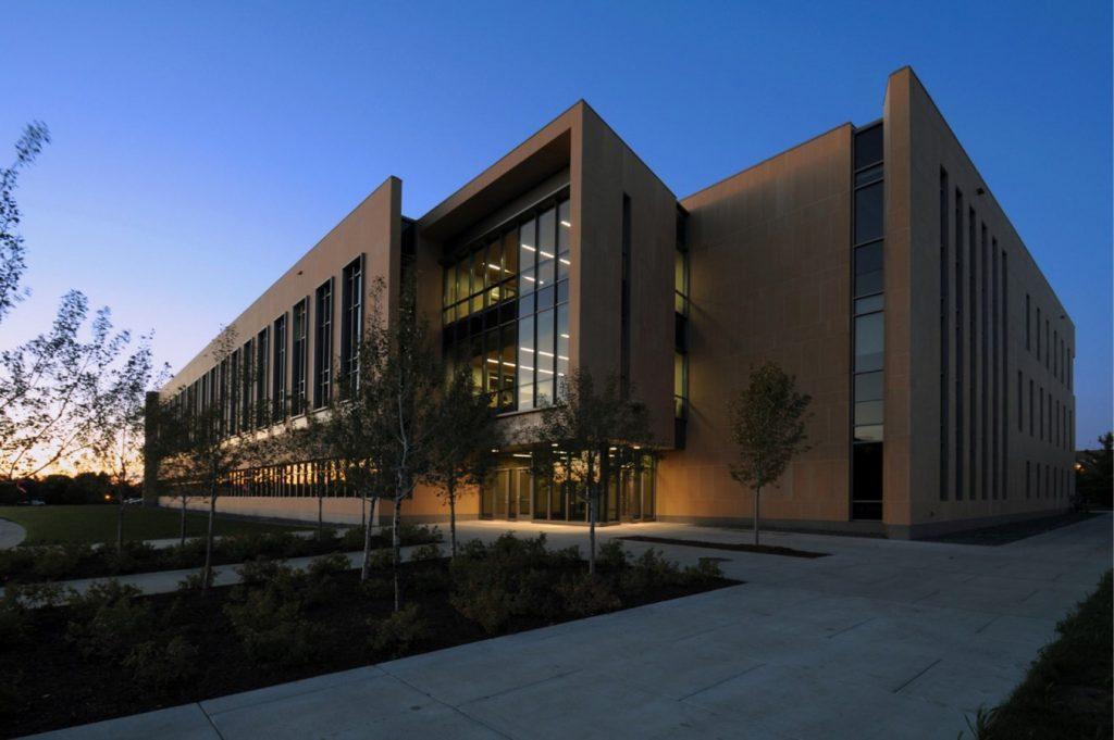 Gustavus Adolphus College - new Warren and Donna Beck Academic Hall - Sheet4