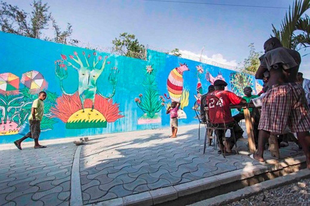Tapis Rouge Public Space, Haiti, Designers-Emergent Vernacular Architecture (EVA Studio) - Sheet2