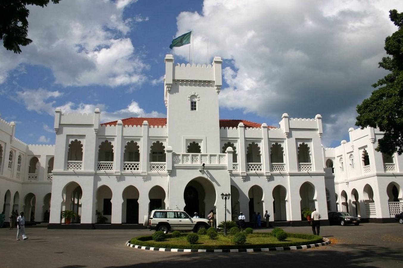 IKULU, STATE HOUSE OF TANZANIA - Sheet1
