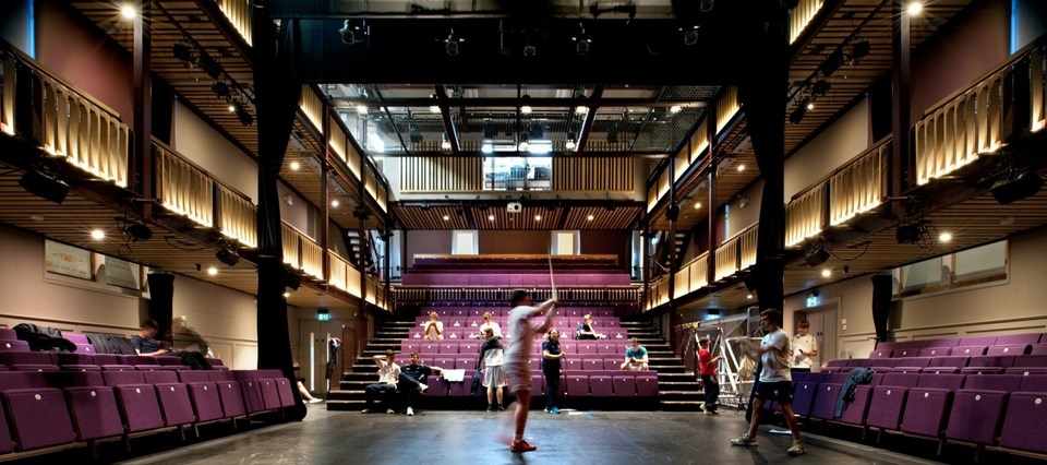 Contemporary examples of Adaptive Reuse-Quarry Theatre -4