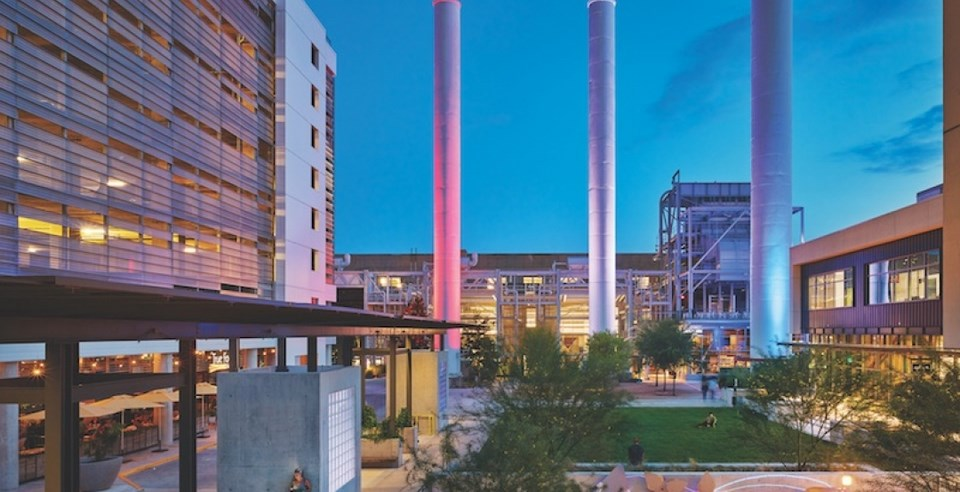 Contemporary examples of Adaptive Reuse-Seaholm Power Plant Re-Development -2