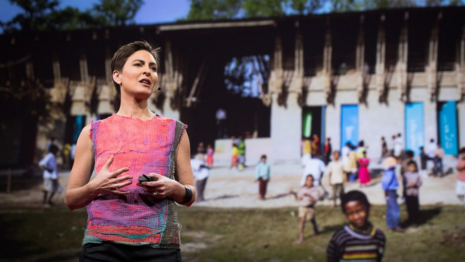 Anna Heringer- The warmth and wisdom of mud buildings