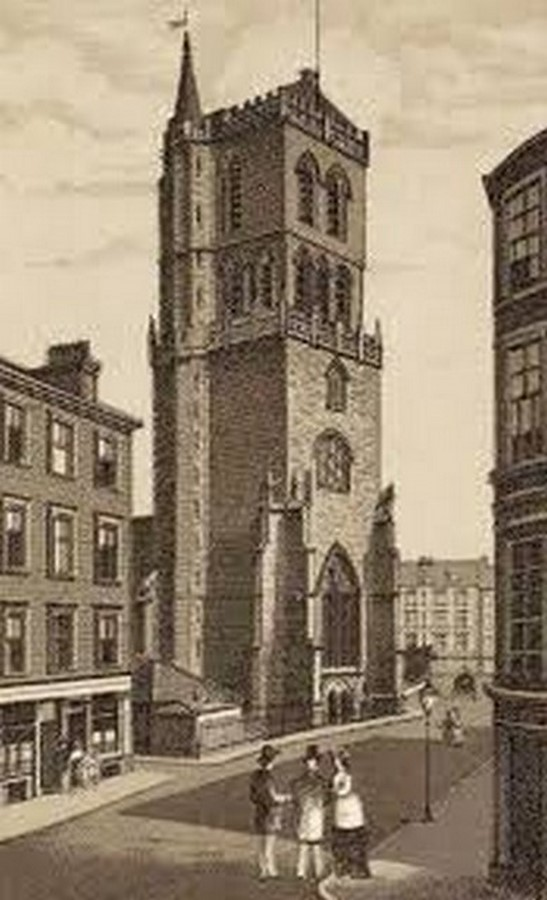 THE OLD STEEPLE/ ST. MARY'S TOWER - Sheet1