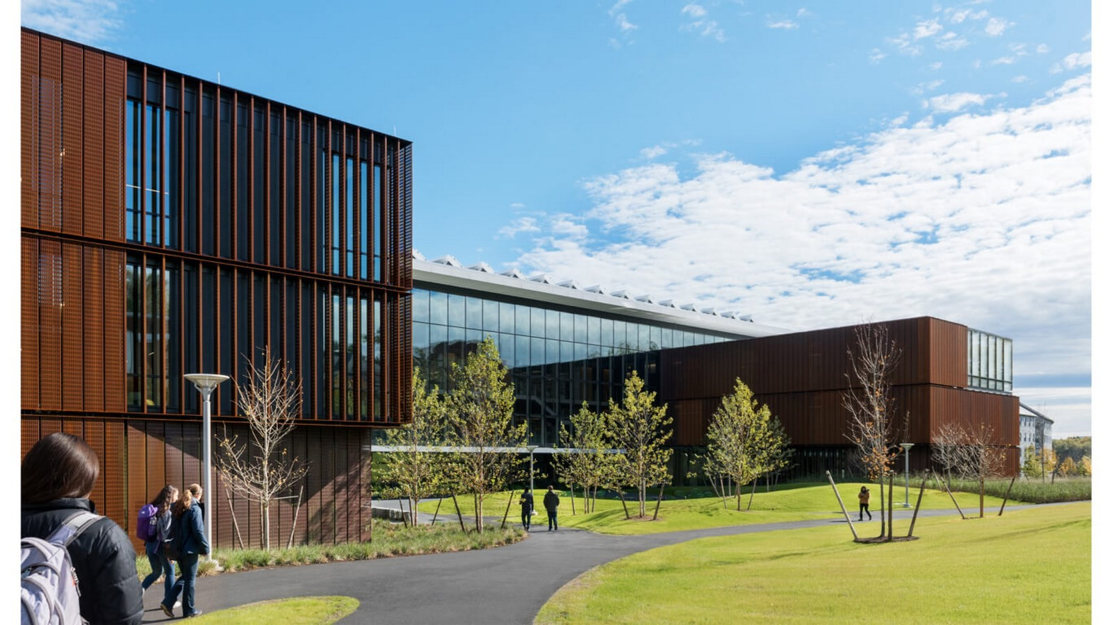 Amherst College Science Centre, Amherst, Massachusetts - Sheet1