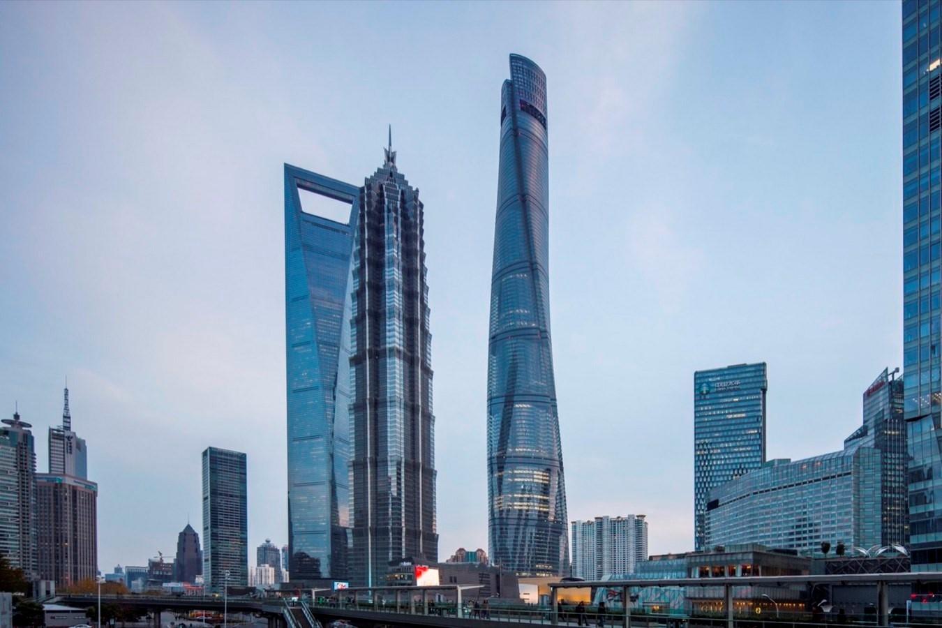Shanghai Tower, China - Sheet2