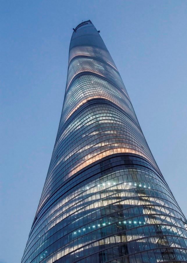 Shanghai Tower, China - Sheet3