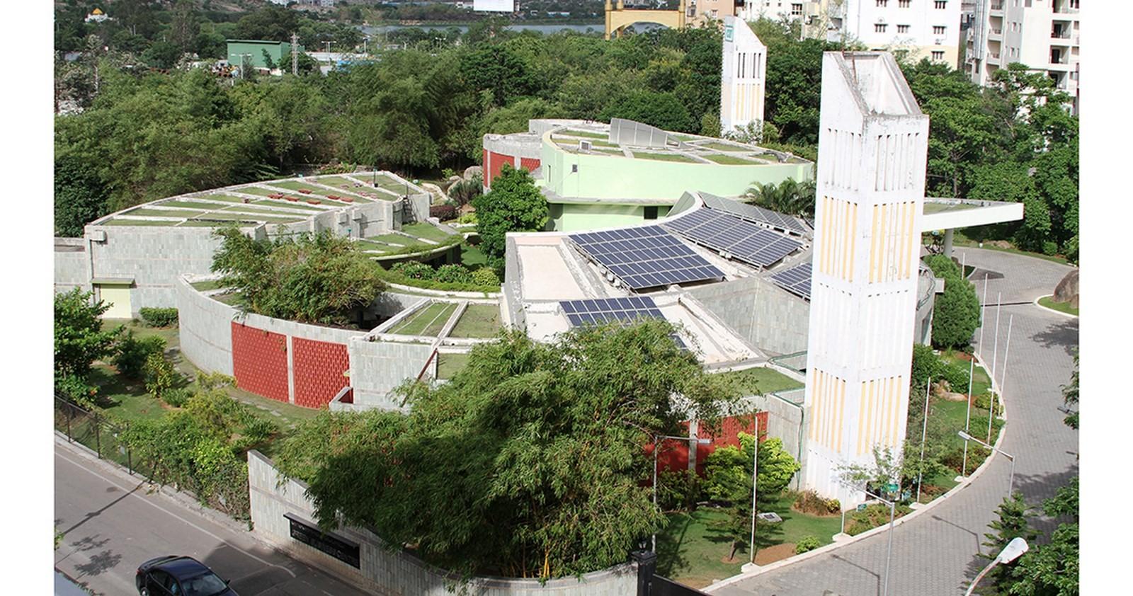 Sohrabji Godrej Green Business Centre, Hyderabad, India - Sheet1