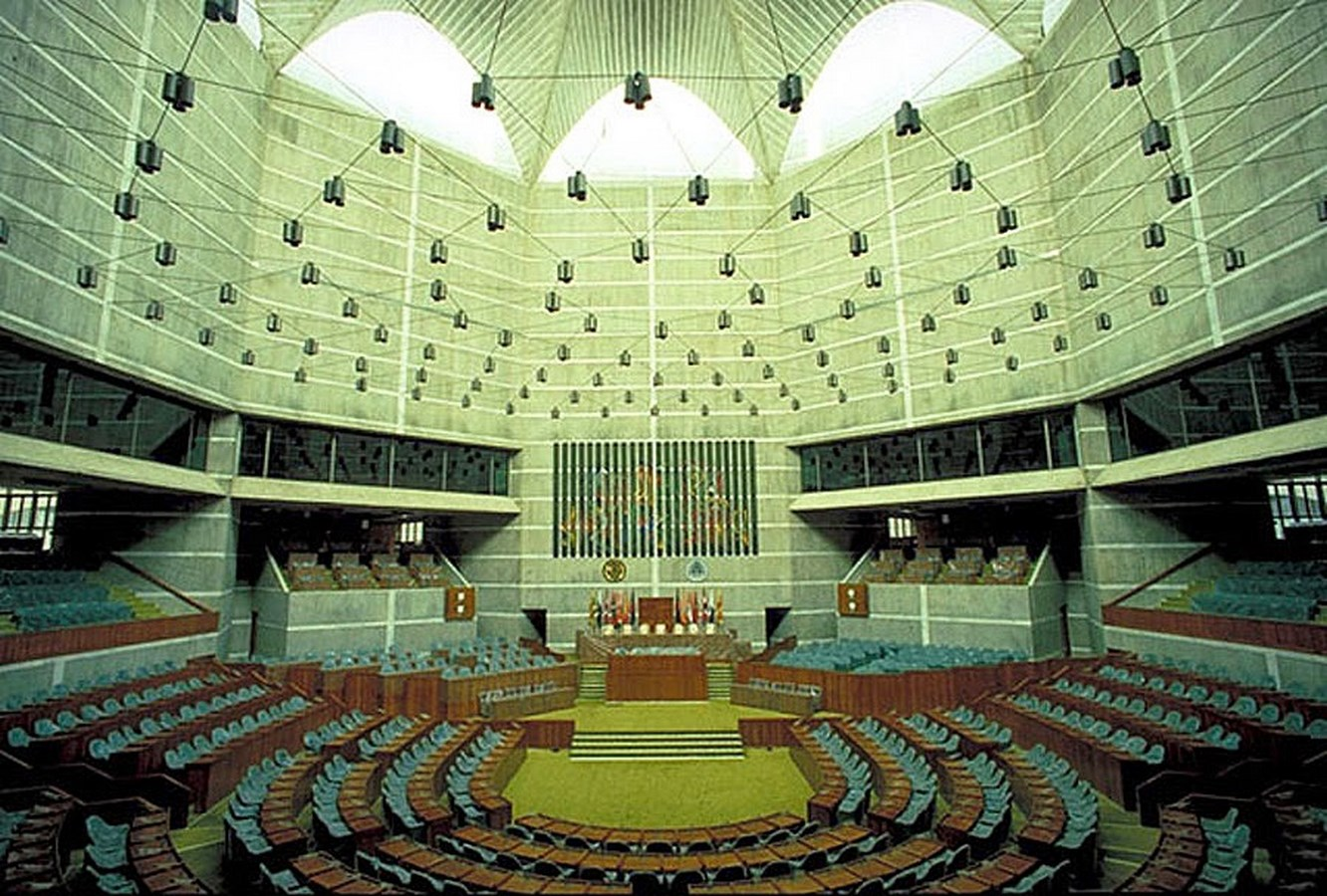 Examples of innovative use of Natural Light-National Parliament House -2