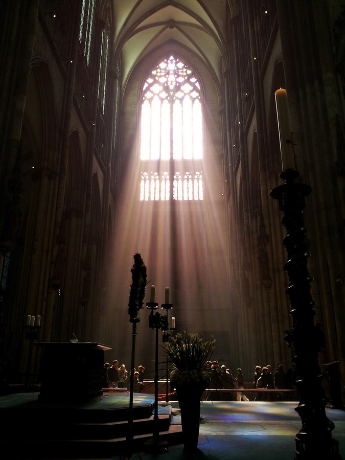 Examples of innovative use of Natural Light-The Cologne Cathedral -2