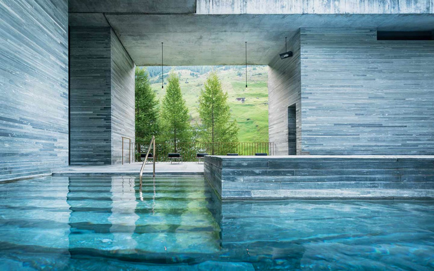 Examples of innovative use of Natural Light-The Thermal Bath -2