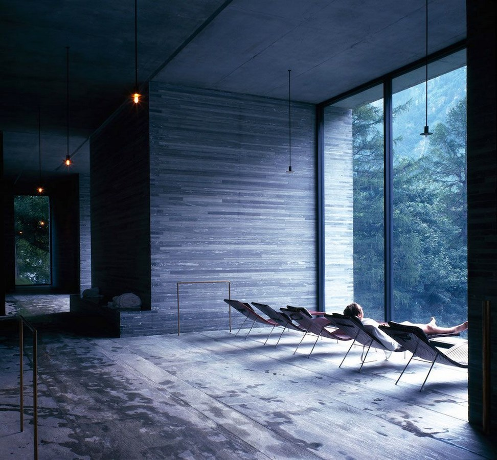 Examples of innovative use of Natural Light-The Thermal Bath -3