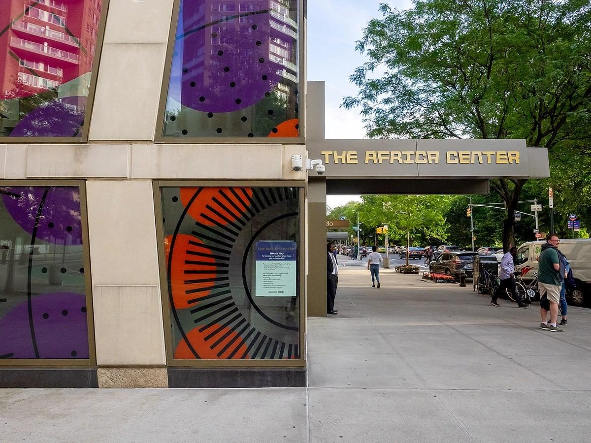 The Africa Centre - Sheet1