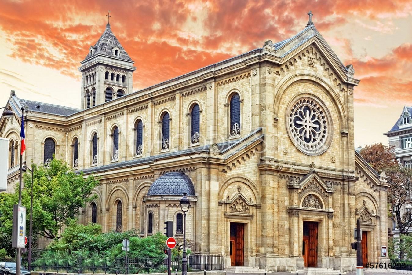 Church of Notre Dame des Champs, Paris - 1867 - Sheet6