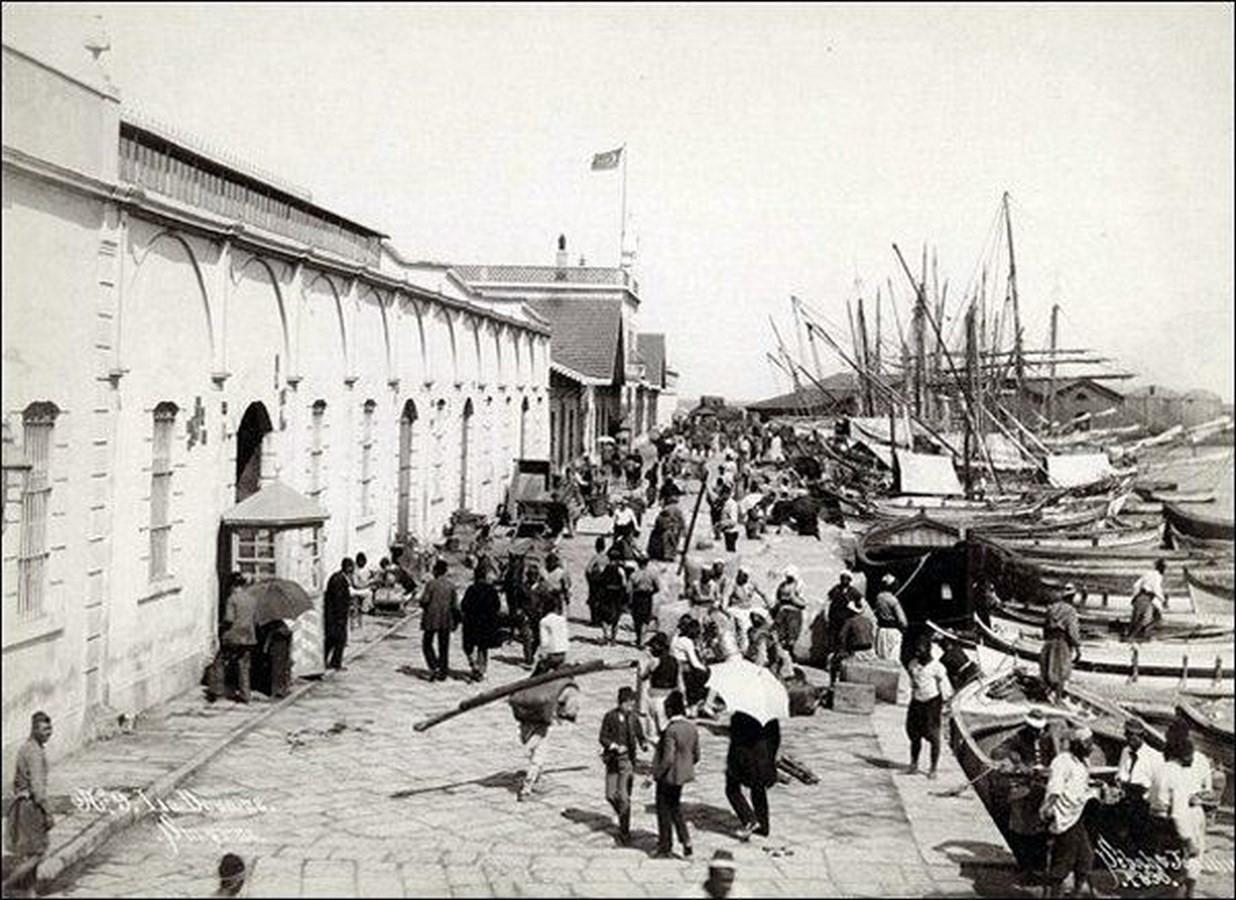Konak Pier, Konak, Izmir – 1890 - Sheet5