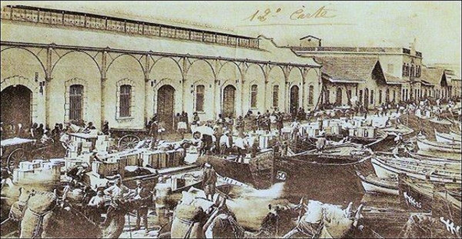 Konak Pier, Konak, Izmir – 1890 - Sheet6
