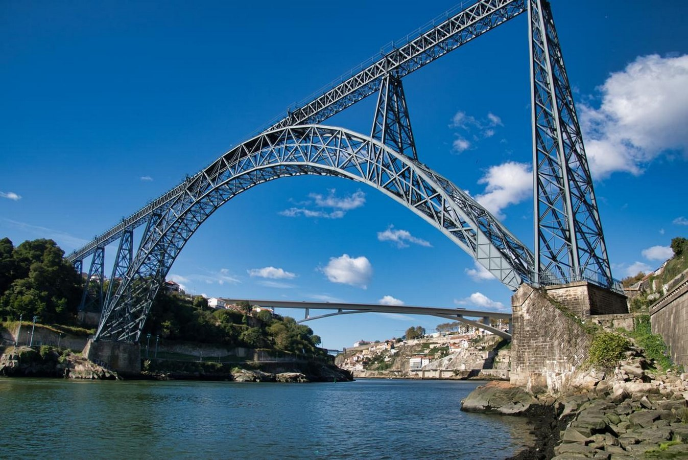 Maria pia bridge, Portugal - 1877 - Sheet
