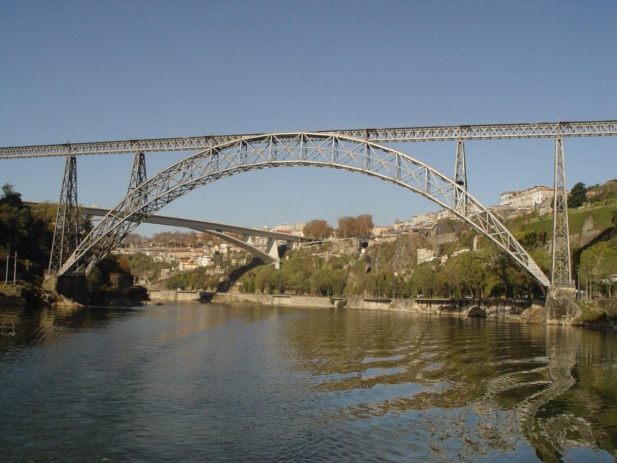 Maria pia bridge, Portugal - 1877 - Sheet2
