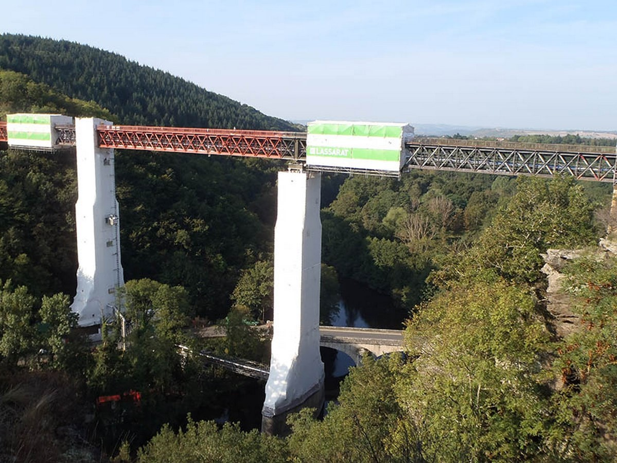 Rouzat Viaduct, Gannat, France – 1867 - Sheet5