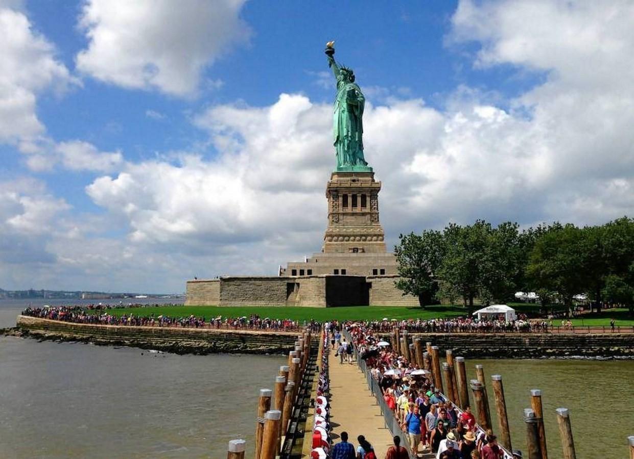 Statue of Liberty, New York – 1886 - Sheet1