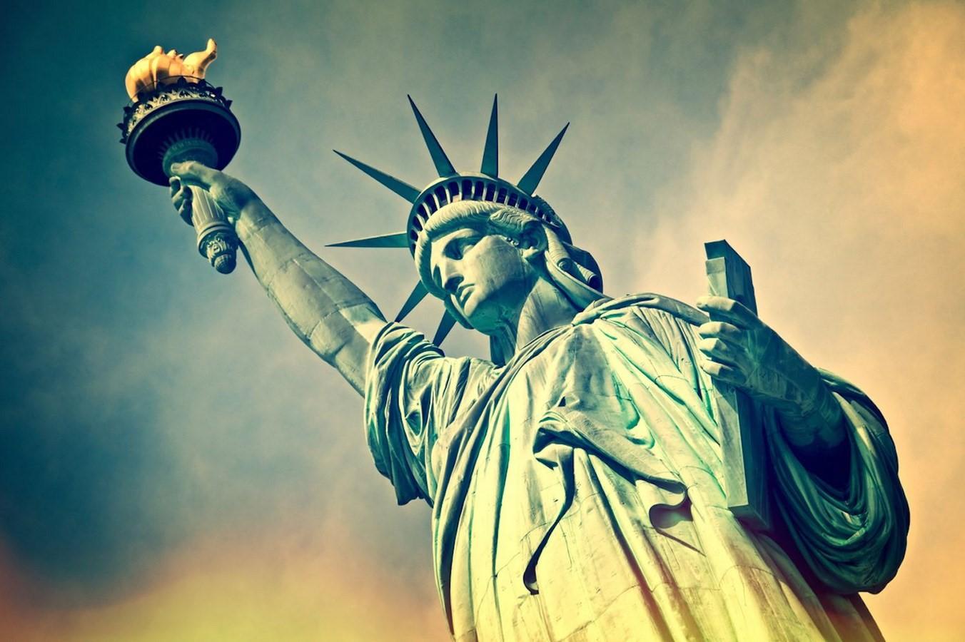 Statue of Liberty, New York – 1886 - Sheet2