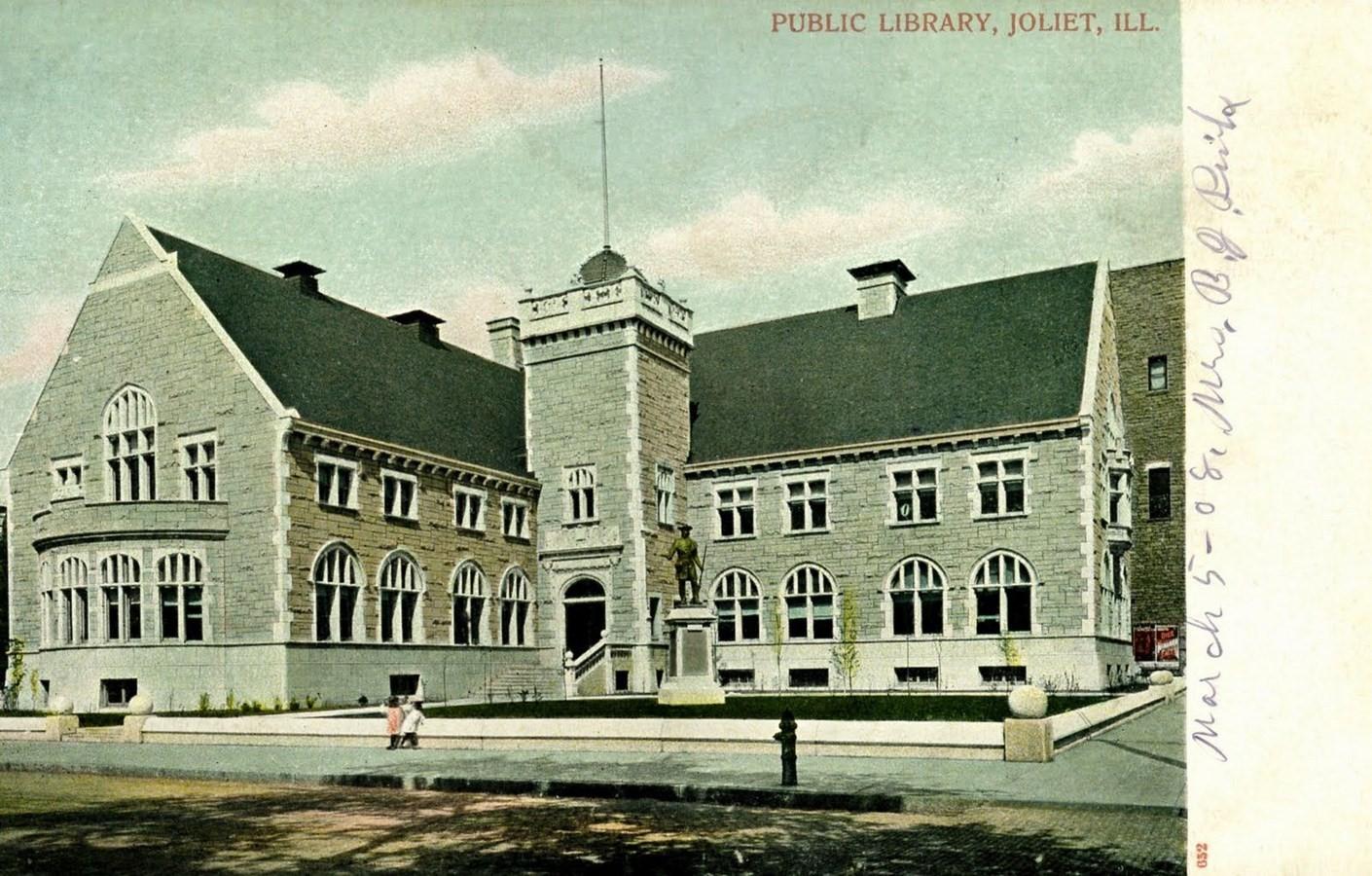 Joliet Public Library, Joliet [1903] - Sheet4