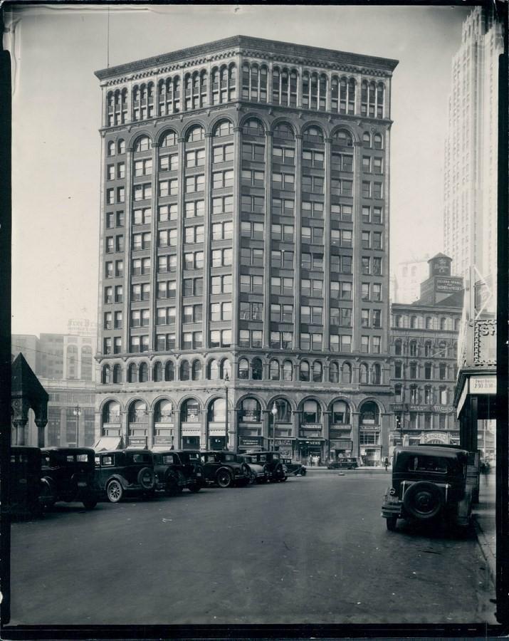 Majestic Building, Detroit [1896] - Sheet2