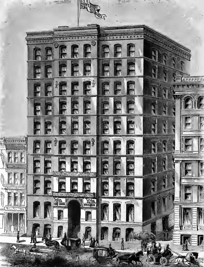 Montauk Building, Chicago [1883] - Sheet1