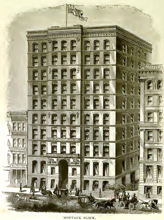 Montauk Building, Chicago [1883] - Sheet2
