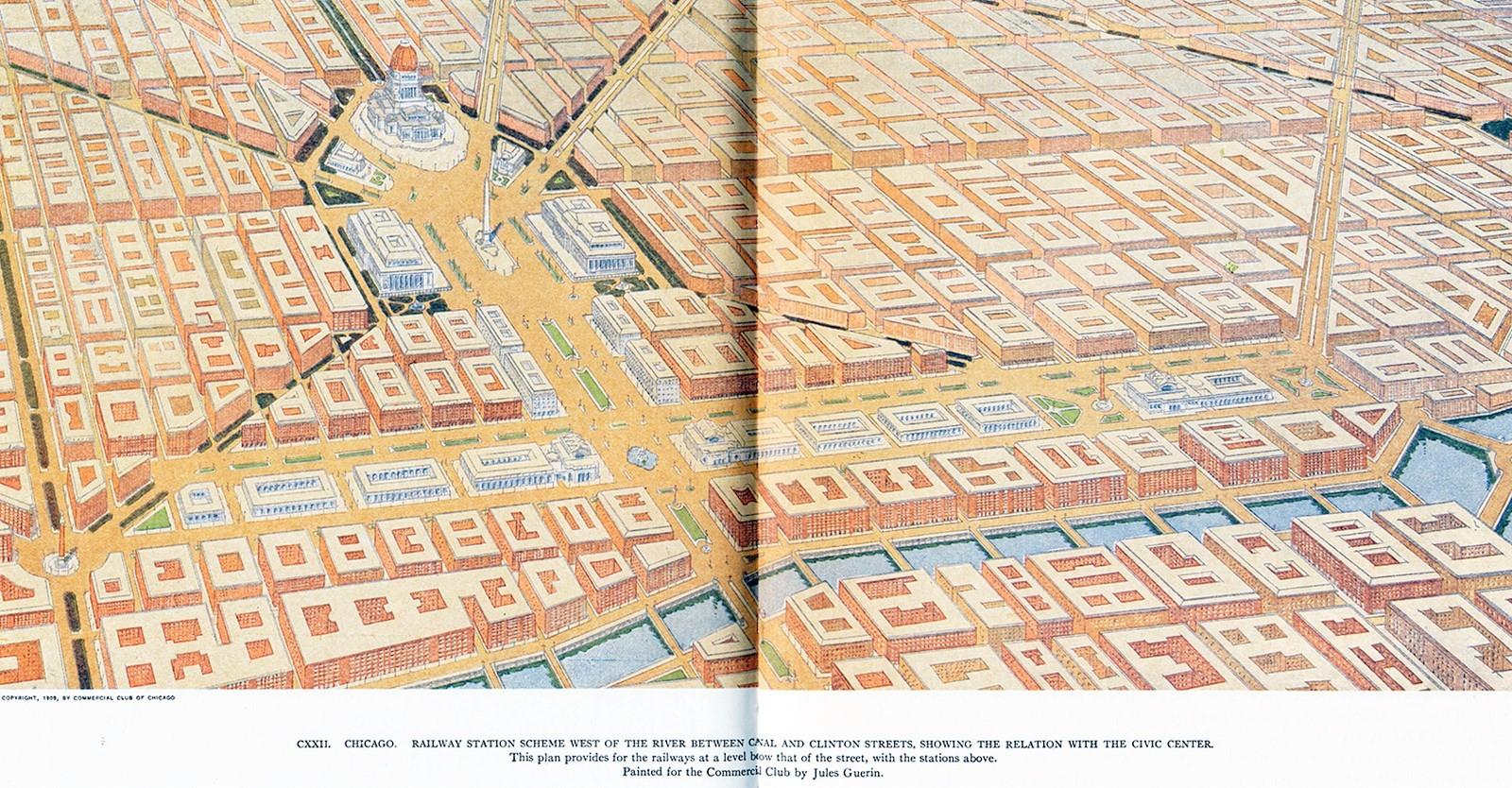 Plan of Chicago, 1909. - Sheet3