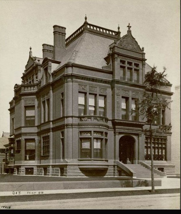 Sydney Kent House, Chicago [1883] - Sheet4