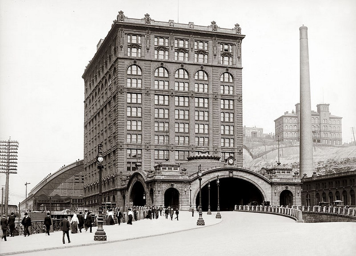 Union Station, Pittsburgh [1903] - Sheet5
